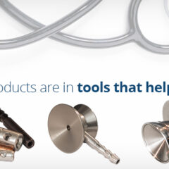 Our machined products are in the tools that help make you well